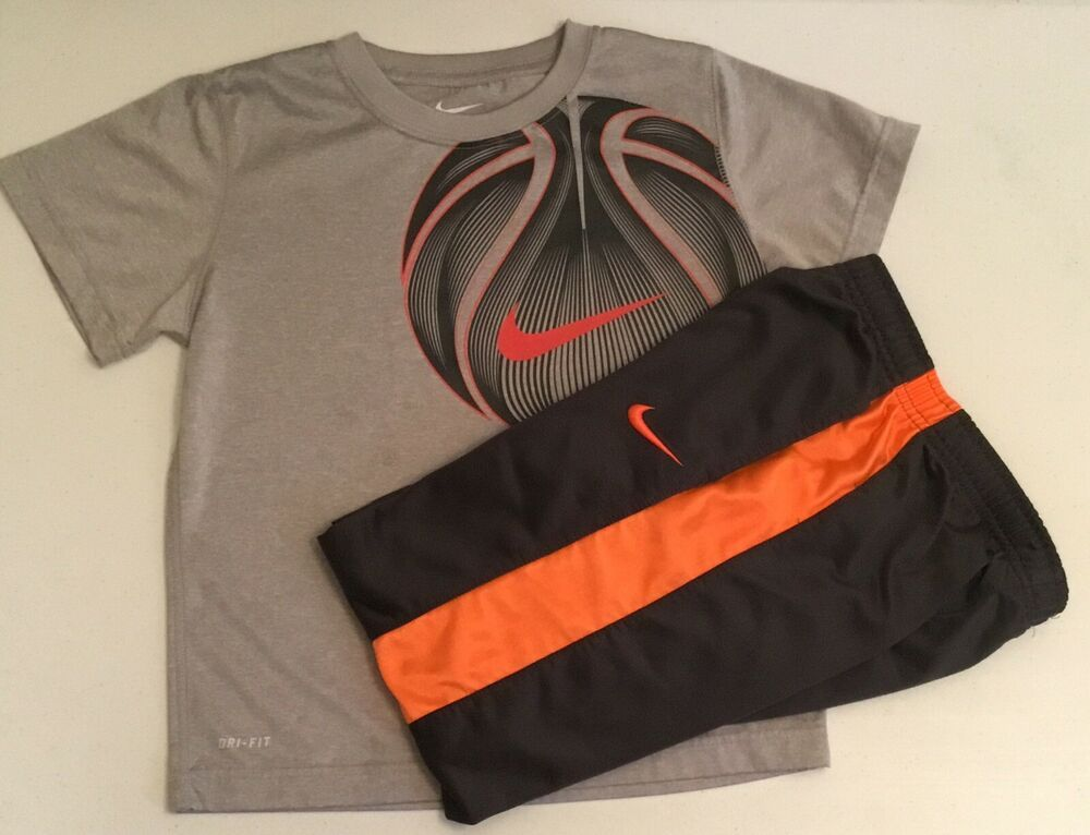 2a61c12d6da NIKE SET SHIRT PANTS BASKETBALL BOYS SIZE 7 ATHLETIC OUTFIT #Nike #Everyday