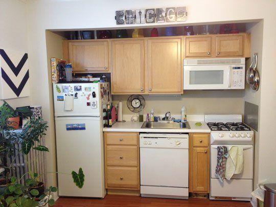 How Do I Hide The Kitchen In My Studio Apartment Small Decor