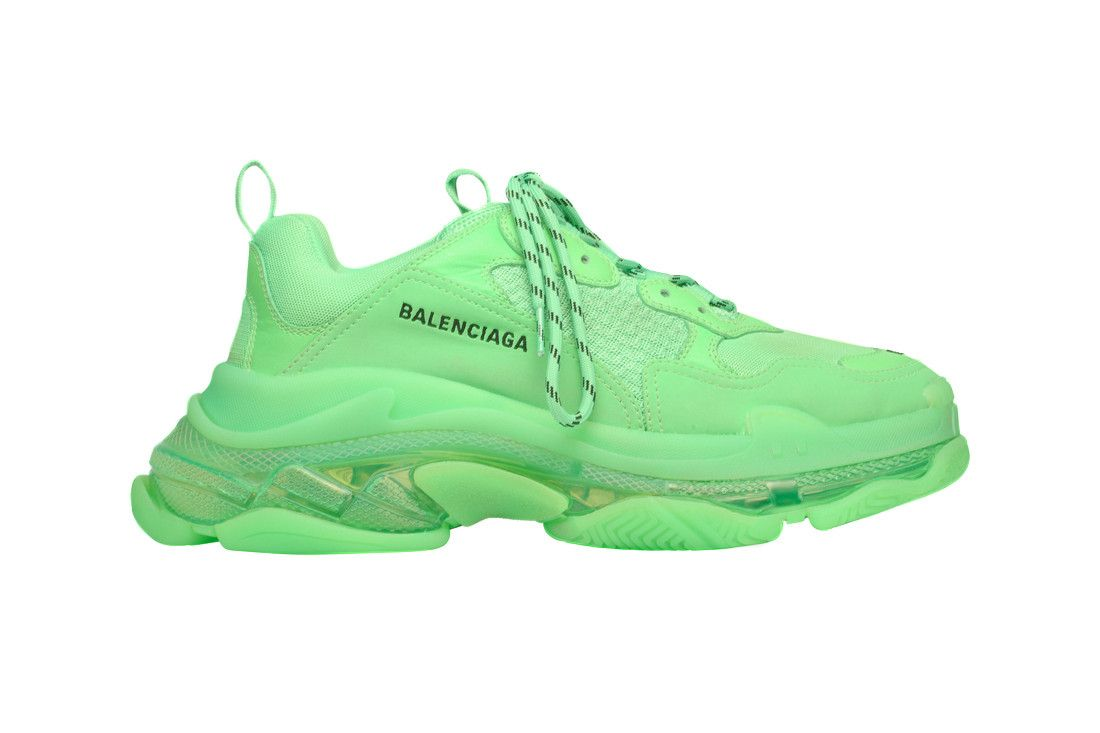 The Balenciaga Triple S Gets Drenched