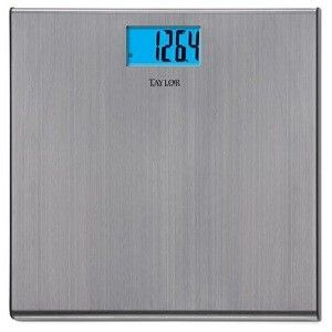 Taylor Stainless Electronic Bath Scales Taylor Stainless Electronic Bath Scales Weight Scale Bath Scale Steel Bath