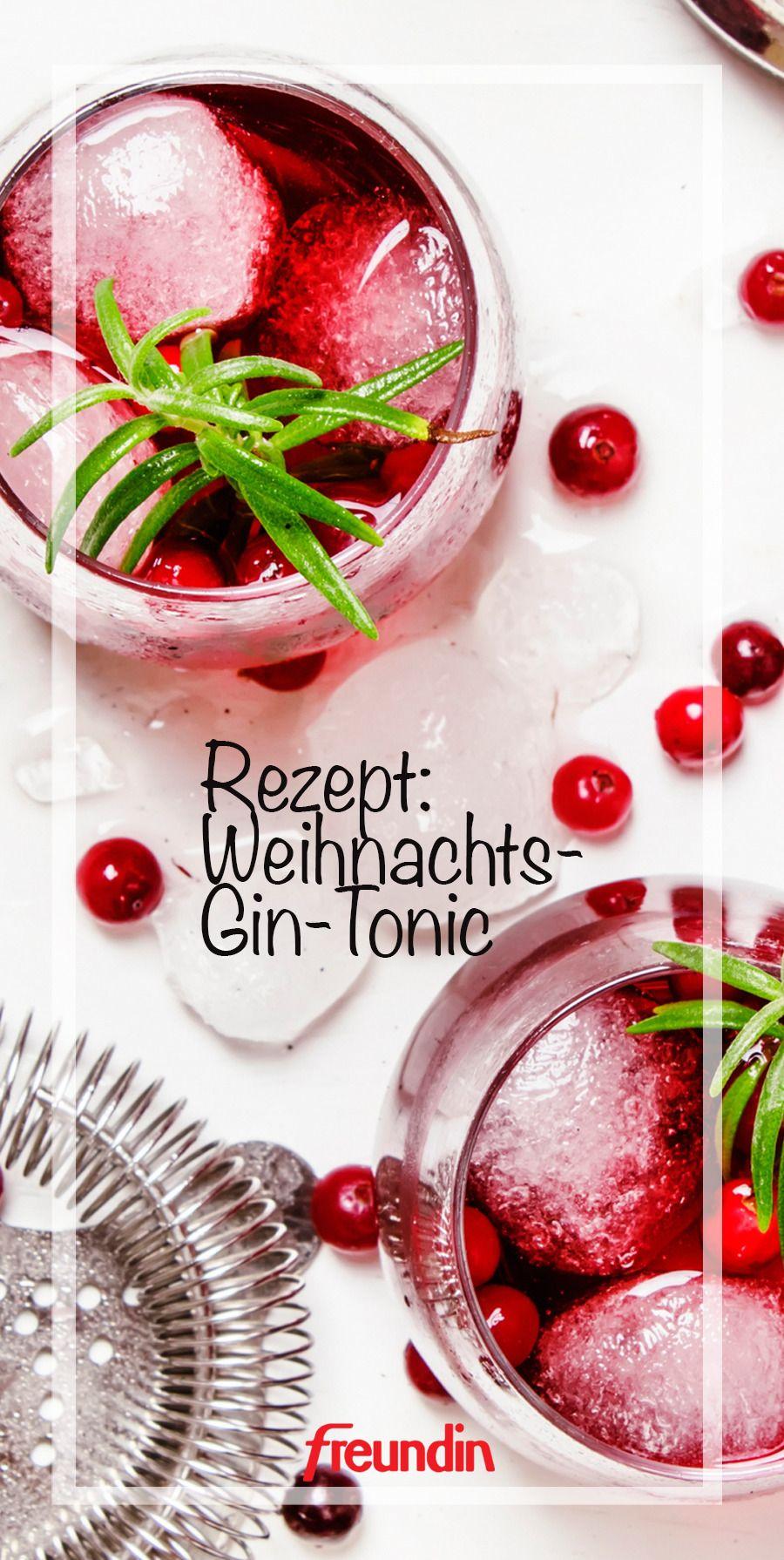 Rezept: Weihnachts-Gin-Tonic | freundin.de