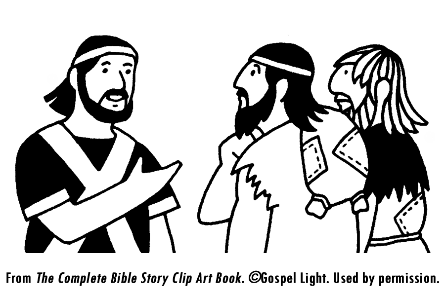 joshua and gibeonites coloring pages - photo#14