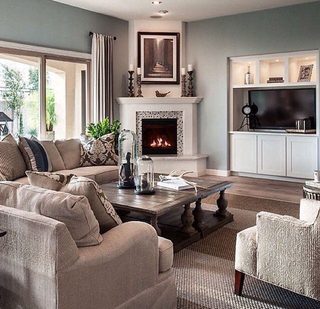 15+ Corner Fireplace Ideas for Your Living Room to Improve Home Interior Visual images