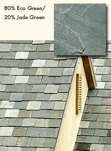 Gaf Truslate 80 Eco Green 20 Jade Green Eco Green Green Architecture Roofing