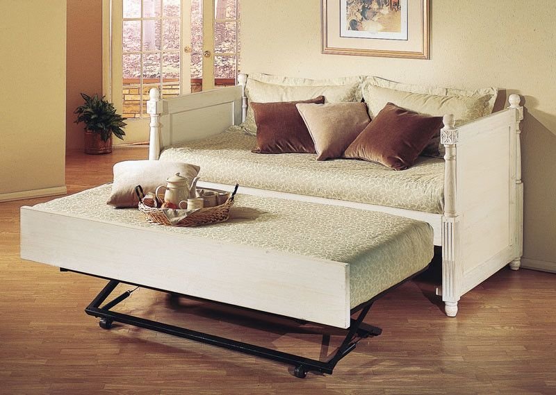 Monterey French Twin Daybed With Pop Up Trundle Pop Up Trundle