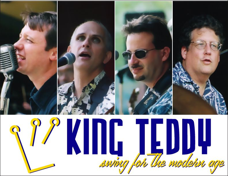 "D.C.-area-based King Teddy plays swing for the modern age. What's that mean? Well, swinging, shuffle versions of the Beatles' ""I Will"" and ""Ballad of John & Yoko,"" for starters. But Mike Sottong's originals are where they really shine. Why aren't there more bands like this?"