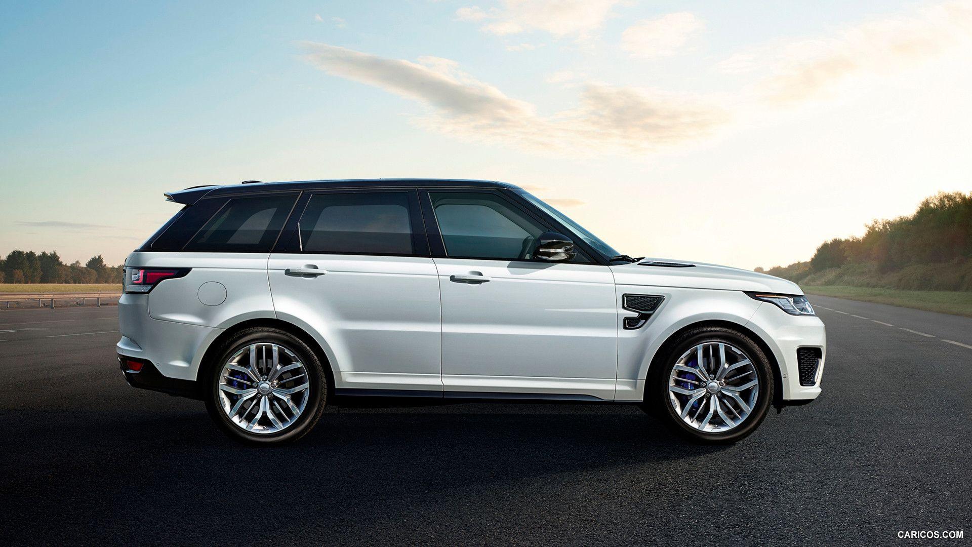 Hd wallpaper of cars - 2015 Range Rover 2015 Range Rover Sport Svr White Side Hd