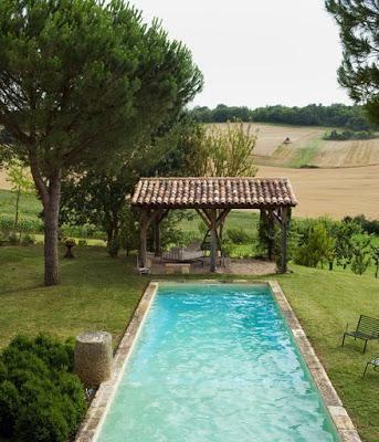 piscinas rusticas piscines jardins et pergola terrasse