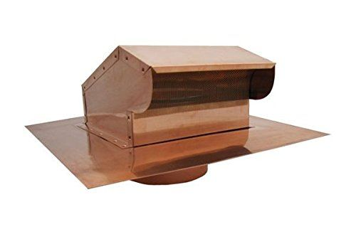 Bath And Kitchen Exhaust Vent With Extension Copper 4 Inch You Can Get Additional Details At The Image Link Kitchen Exhaust Roof Vents Bath Fan