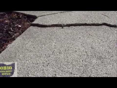 How To Grind A Concrete Trip Hazard Fix Raised Concrete
