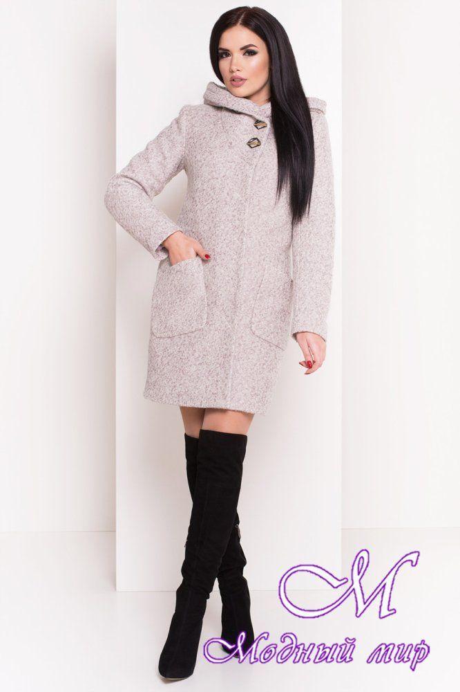 a4a2eda631bb Теплое зимнее женское пальто с капюшоном (р. S, М, L) арт. Делфи ...
