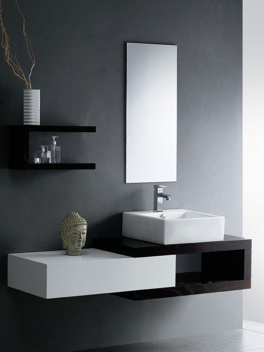 Cool idea for a zen minimalist home arredamento bagno for Minimal home mobili