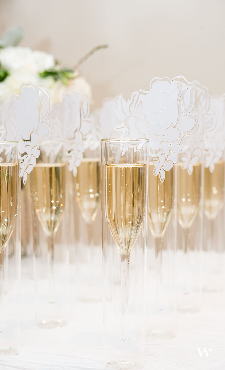 Laser Expressions Floral Dreams Die Cut Card | Champagne glasses ...