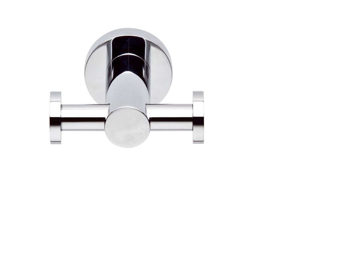 Sussex Taps Pol Double Robe Hook Available At Reece Bathroom Life