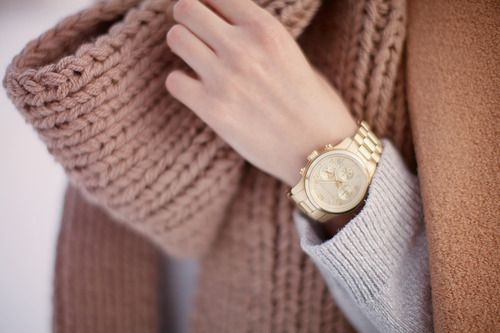 neutral + gold, soft colors and layers