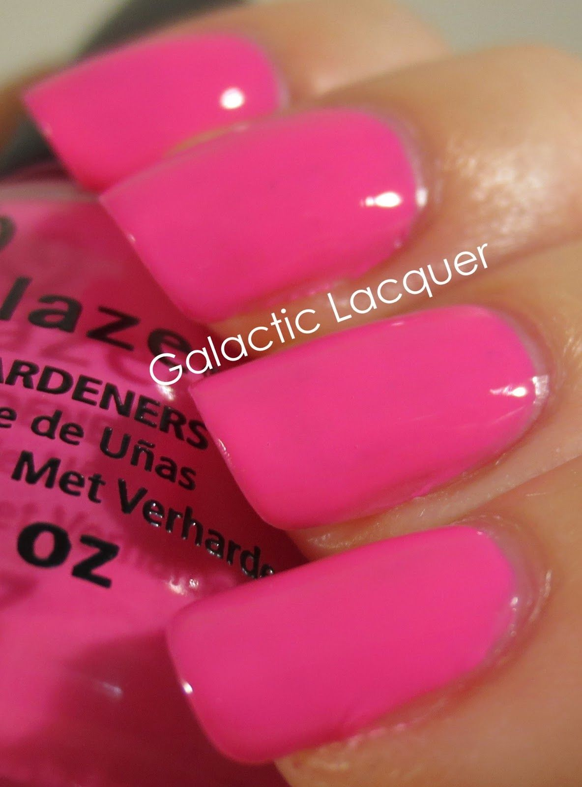 Galactic Lacquer: China Glaze - Sunsational Jellies