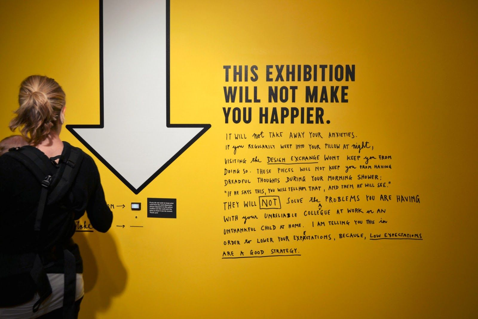 stefan sagmeister happy yellow exhibit - Google Search | PROJECT SMB