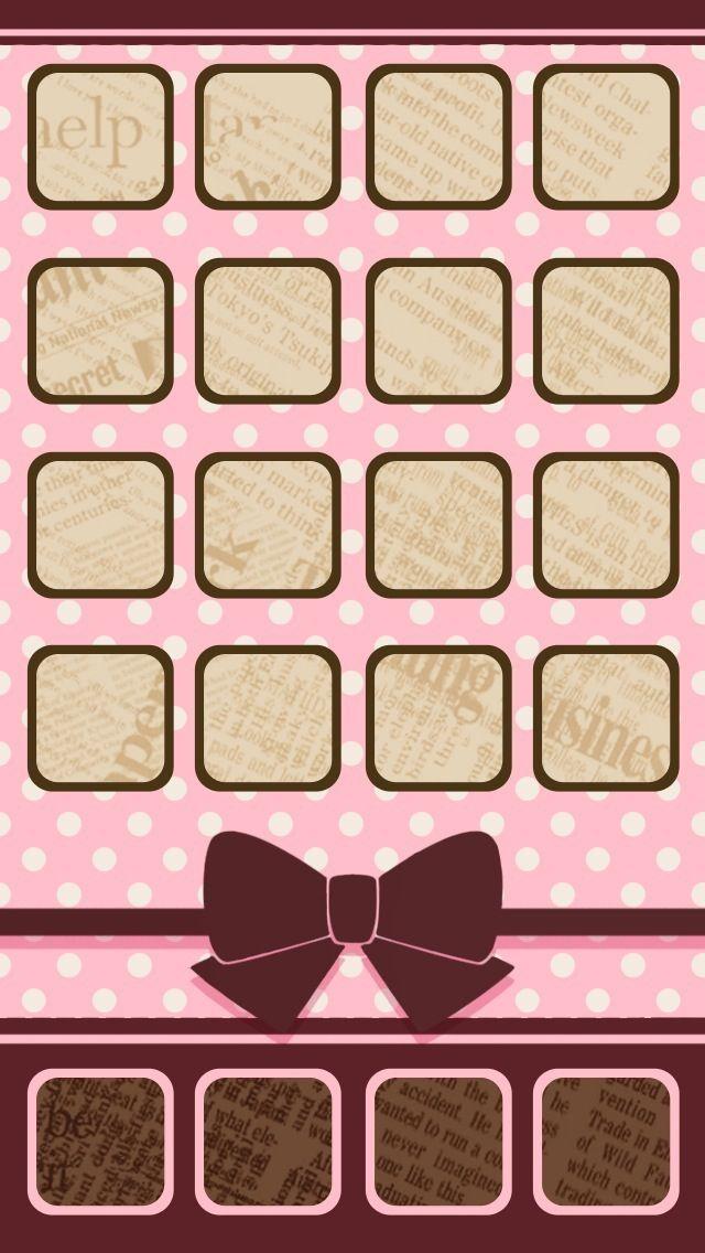5f73ad91fe1 Cute iPhone 5 Wallpaper | tableros | Pantalla de inicio iphone ...