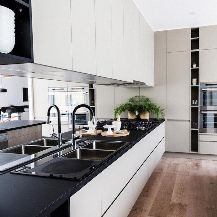 Kitchen No Backsplash: The Block Glasshouse: Apartment No. 6 Reveal II