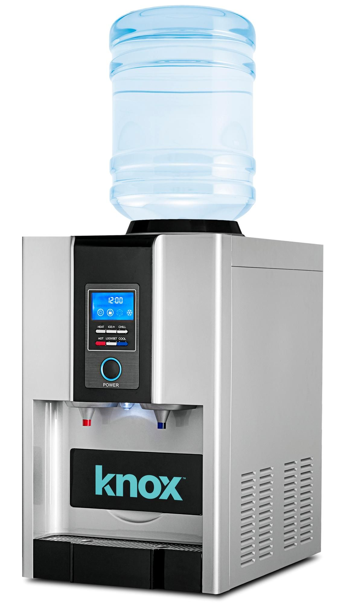 Water Cooler Dispenser Ice Maker Hot Cold Water Line 5 Gallon Jug ...