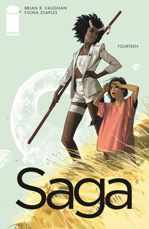 Amazon.com: Saga #14 eBook: Brian K. Vaughan, Fiona Staples: Kindle Store