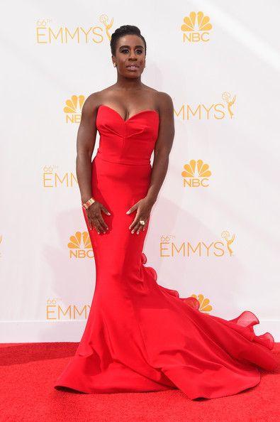 Uzo Aduba at the 66th Annual Primetime Emmy Awards