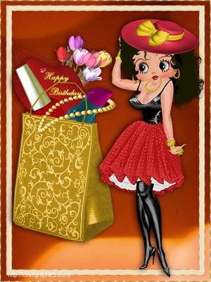 Betty Boop Pictures Archive Birthday Betty Boop Pinterest