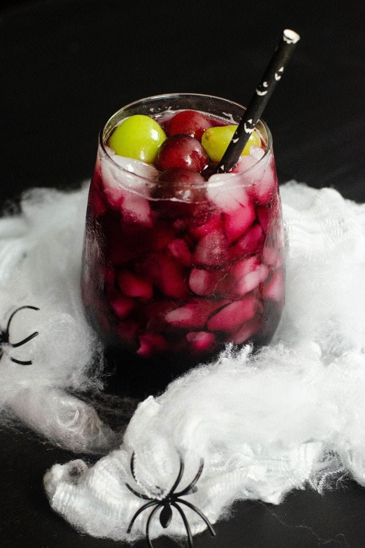 Black Magic Cocktail Recipe Spooky food, Delicious