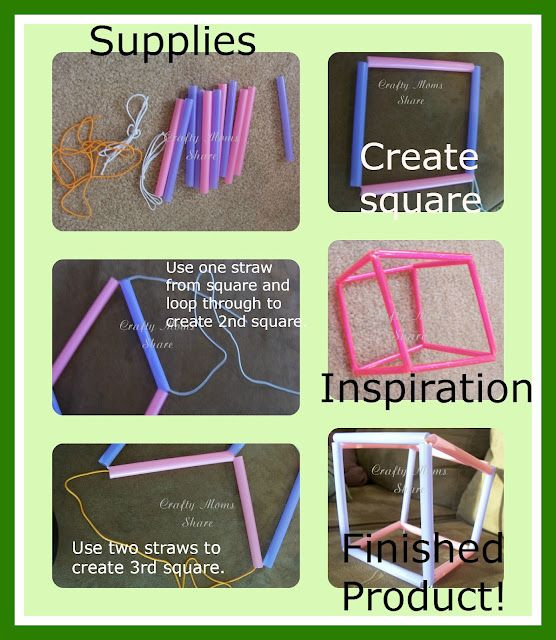how to make a parol using straws