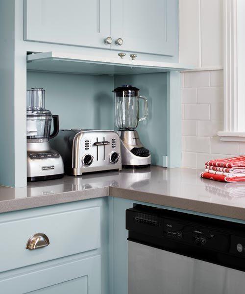 Countertop Appliance Garage : ... appliance garages kitchen appliance cupboard corner appliance garage