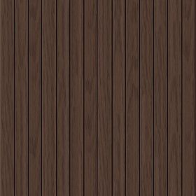 Textures Texture seamless | Dark brown siding wood texture ...