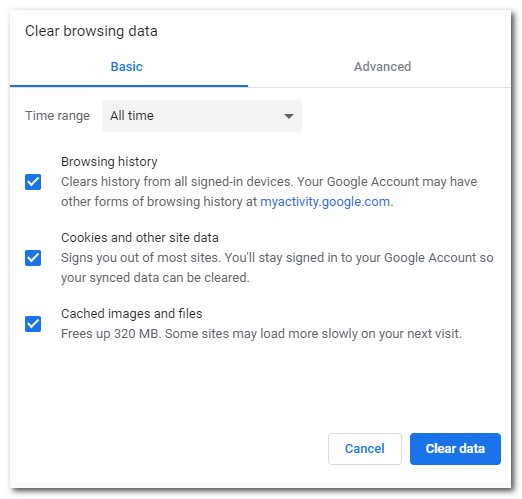 Quick Tip How To Delete Your Google Chrome Browsing Data