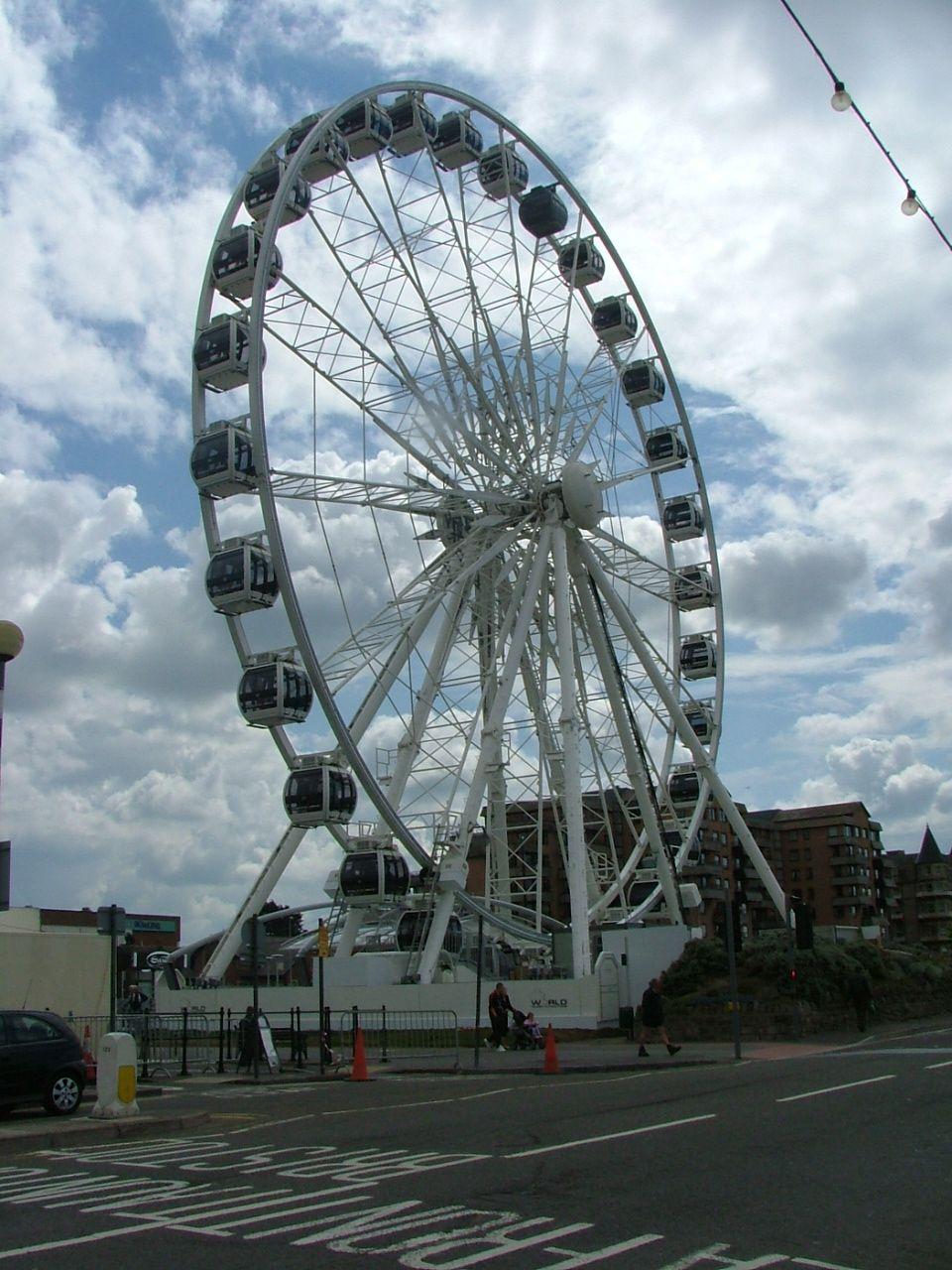 Big Wheel on Weston Super Mare promenade.