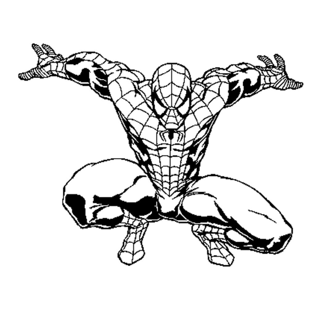 Printable Spider Man Para Colorear With Dibujos De Spiderman ...