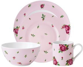 shopstyle.com: Royal albert new country roses pink 4-pc. place setting