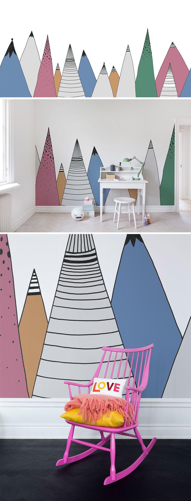 Best Mountain Ridge Color Kids Room Murals Kids Room Wall 640 x 480
