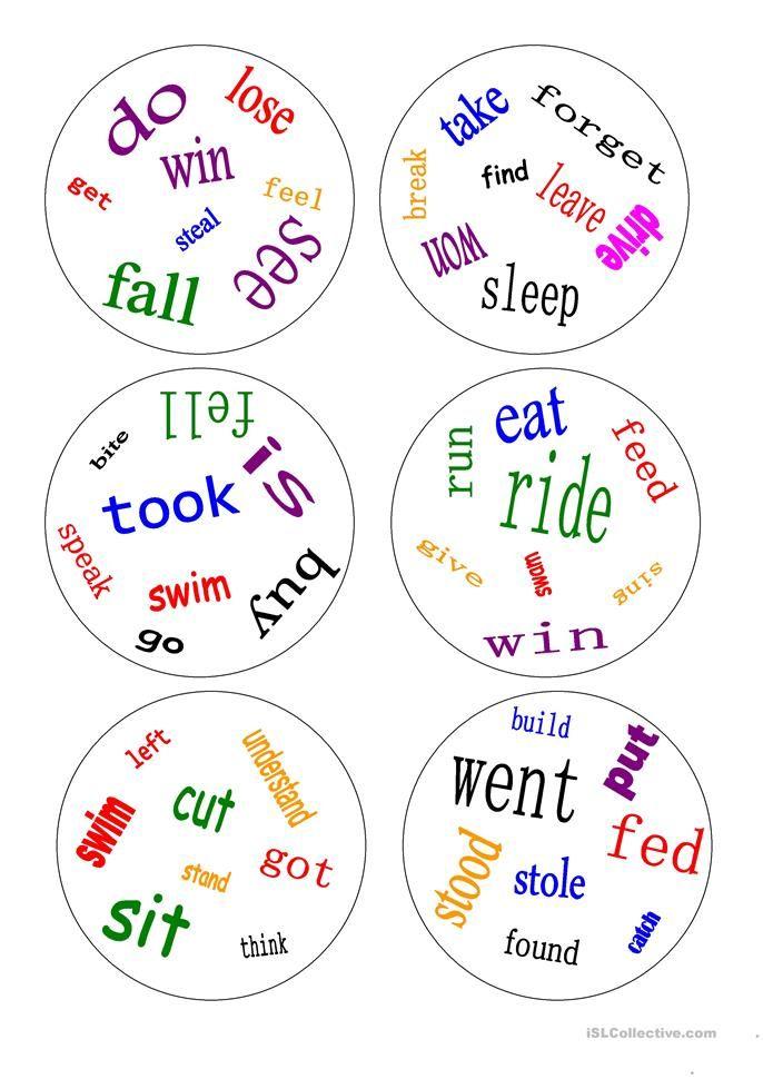 Printable Worksheets free irregular verb worksheets : Pin by Аlаyah Мayrа on Mixit new   Pinterest   Irregular verbs ...