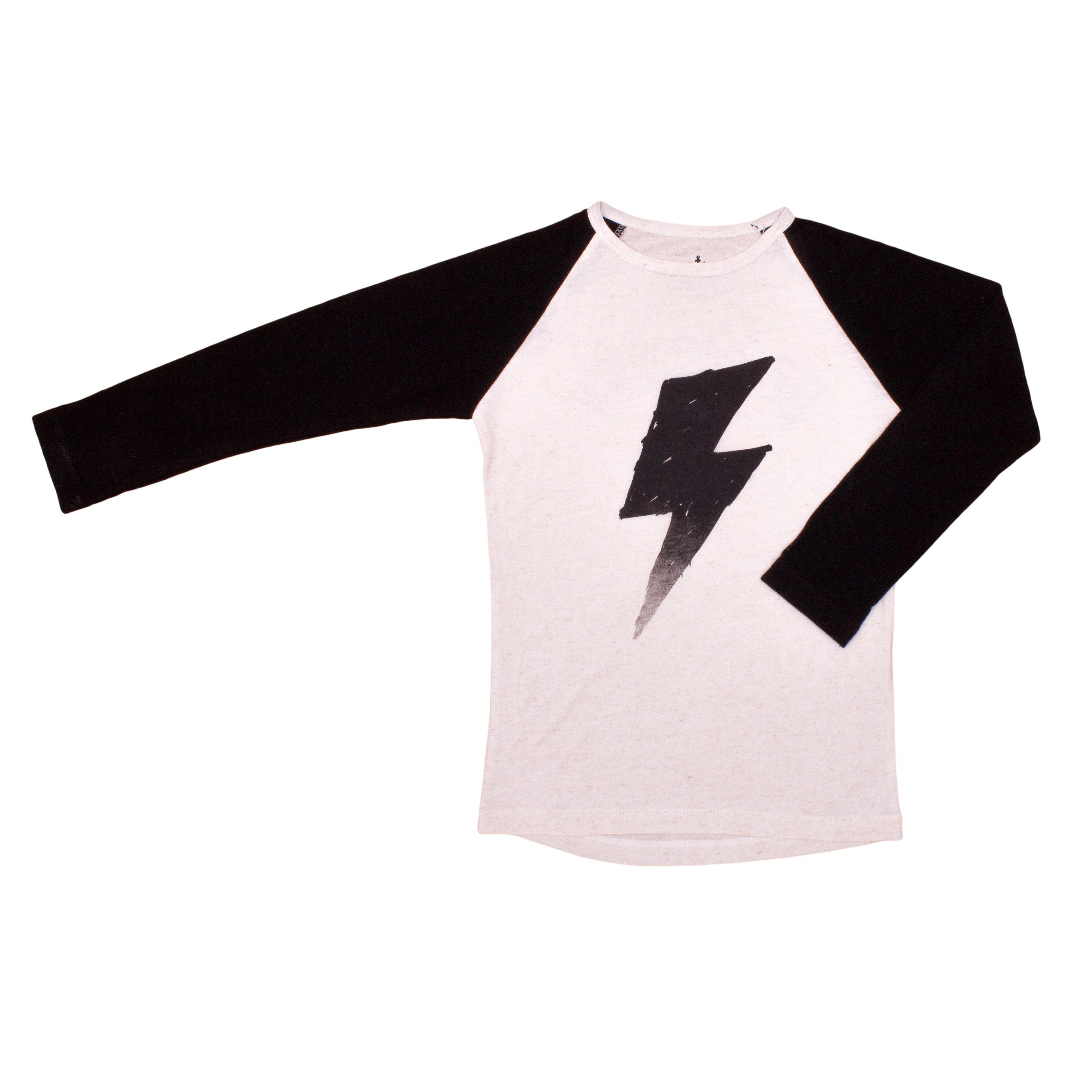 Noe & Zoe. Raglan. £32. #tshirt #lightening #kidsclothing