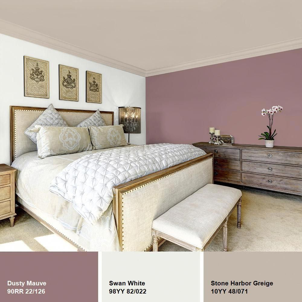 ppg diamond 1 gal hdgr37 dusty mauve eggshell interior on home depot paint colors interior id=41361