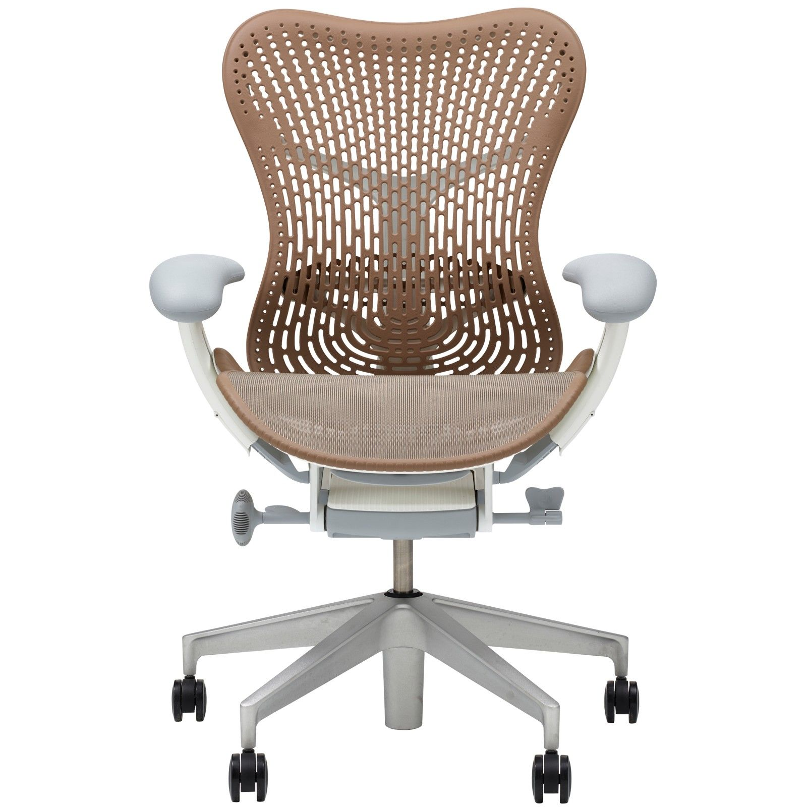 Magnificent Herman Miller Mirra 2 Triflex Office Chair Cappuccino Price Bralicious Painted Fabric Chair Ideas Braliciousco