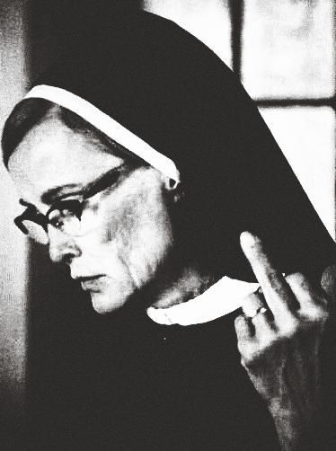 "Jessica Lange as ""Sister Jude"" in American Horror Story 2 ""ASYLUM"""