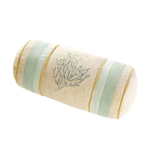 Found it at Wayfair - Natural Shells Neckroll Cotton Bolster Pillow