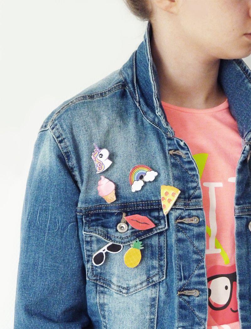 6ff8e40a7613c diy patch customiser veste en jean. Voir cette épingle et ...