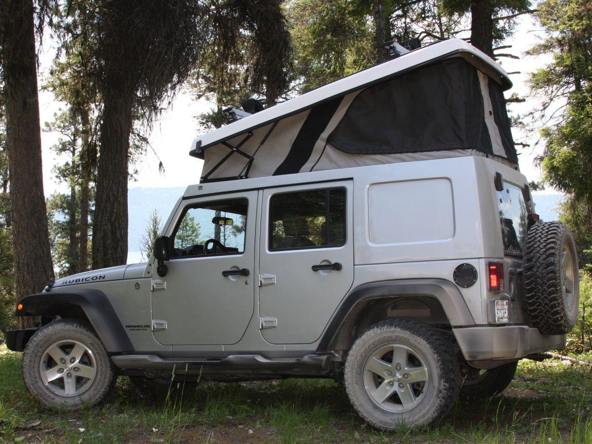 j30 pop up camper top jeep wrangler unlimited i 39 d. Black Bedroom Furniture Sets. Home Design Ideas
