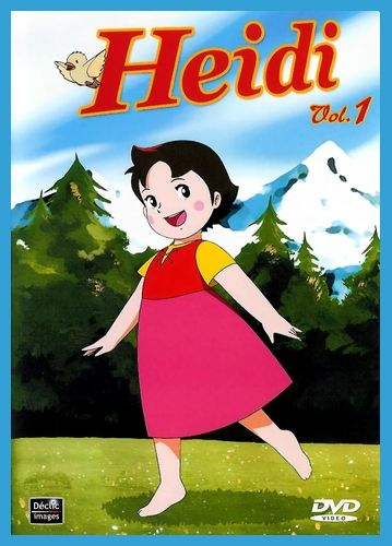 Heidi Girl Of The Alps Is One Of Several World Masterpiece Theater Titles Produced Around The Classical Children S L Heidi Cartoon Heidi Movie Anime Wall Art