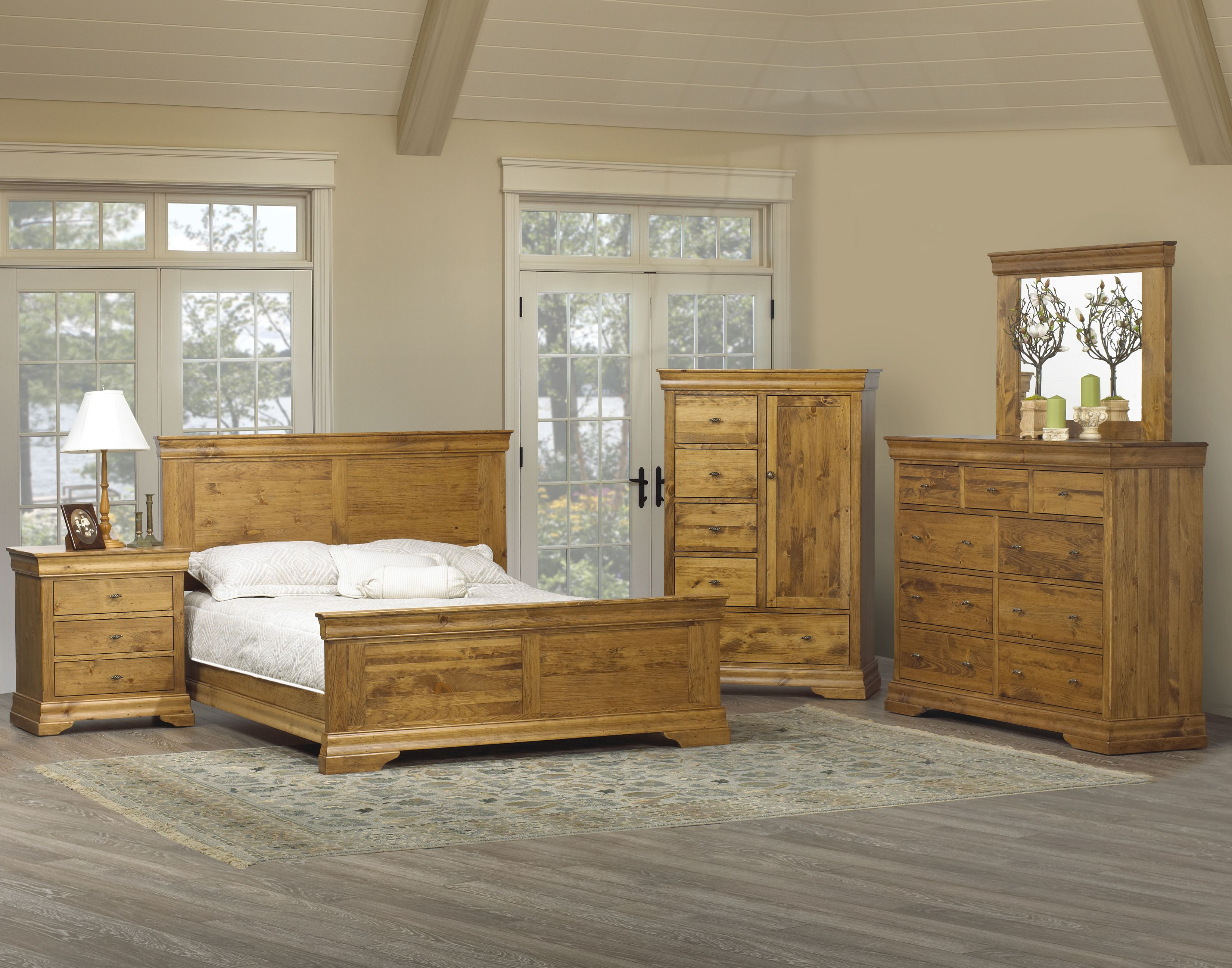 7300 Colonial Pine Bedroom Sets Best Free