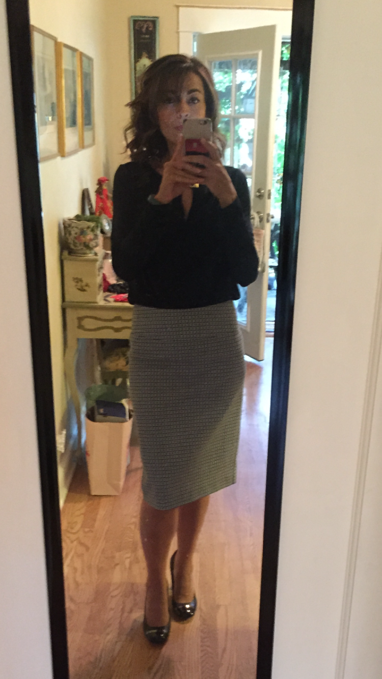 c3e82933e0 Margaret M Christiana Printed Pencil Skirt Stitch Fix clothes I liked Margaret  M skirt ...Love this skirt, perfect fit