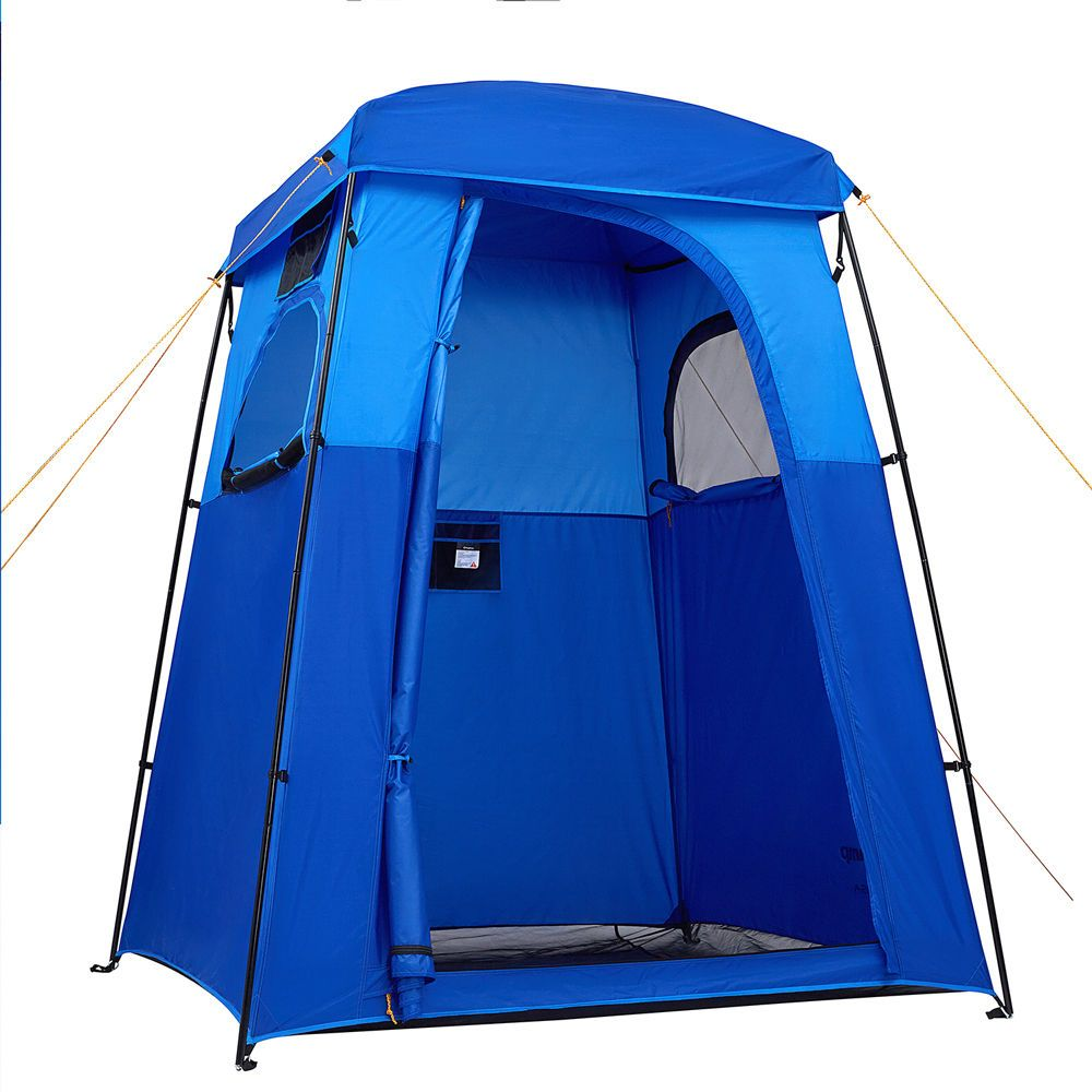 Kingc& C&ing Shower Tent Outdoor Changing Privacy Portable Toilet Bath Tents  sc 1 st  Pinterest & Kingcamp Camping Shower Tent Outdoor Changing Privacy Portable ...