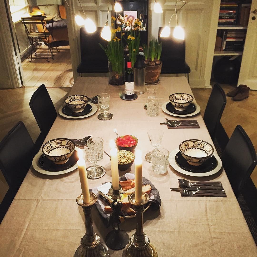 Get well dinner 4 a friend  #picoftheday #nørrebrogade #nørrebro #copenhagen #ibyen #iphoneonly #hygge #dinner #weekend by 3udi2antoso