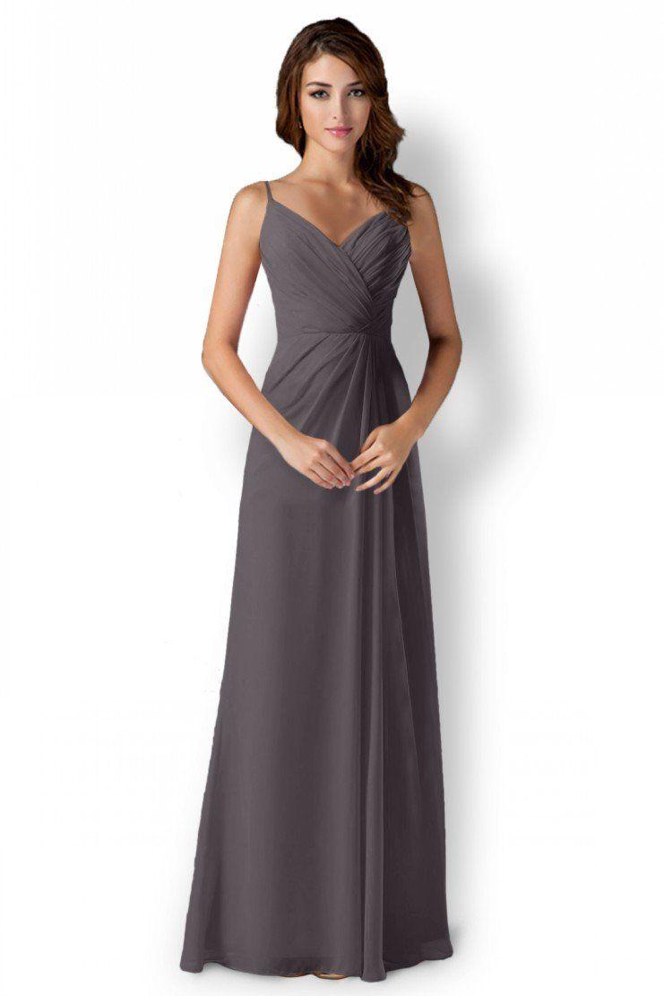 Long bridesmaids dress prom dress chiffon evening wedding gowns long bridesmaids dress prom dress chiffon evening wedding gowns gray 6 ombrellifo Images
